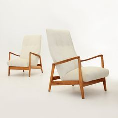 Set of 2 Mod. 829 arm chairs from the fifties by Gio Ponti for Cassina