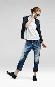 The Effective Pictures We Offer You About tomboy outfits edgy A quality picture can tell you many th Tomboy Outfits, Outfit Jeans, Tomboy Fashion, Mode Outfits, Jean Outfits, Denim Fashion, Love Fashion, Casual Outfits, Fashion Outfits
