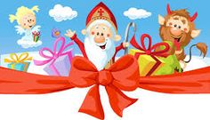 Buy Saint Nicholas, Devil and Angel by hanaschwarz on GraphicRiver. Saint Nicholas, devil and angel – vector illustration isolated on white background. Christmas Garden, Prim Christmas, Father Christmas, Retro Christmas, Christmas Images, Christmas Trees, Angel Vector, Saint Nicolas, Old Fashioned Christmas
