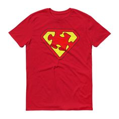 Men's Autism Superhero - Cool Autism Awareness Product Gift T-Shirt