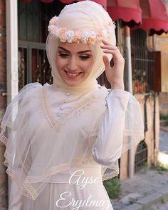 Muslimah Wedding Dress, Muslim Wedding Dresses, Bridal Wedding Dresses, Bridesmaid Dresses, Hijab Gown, Hijab Style Dress, Bridal Hijab, Wedding Hijab, Beautiful Hijab