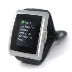 a watch that connects to your smartphone!