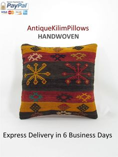 Grab your embroidered pillows antique kilim pillow rug pillow home decor decorative pillow bedding bedroom decor pillows 000719 at a great price and enjoy shopping. https://www.etsy.com/listing/529756985/embroidered-pillows-antique-kilim-pillow?utm_source=mento&utm_medium=api&utm_campaign=api  #housewares #pillow