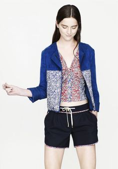bStore x Liberty S/S 12 collection  I <3 the jacket