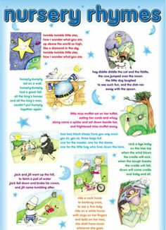 English Nursery Rhymes Educational Learning Poster Chart - Click Image to Close Nursery Rhyme Crafts, Nursery Rhymes Lyrics, Nursery Rhymes Preschool, Nursery Rhyme Theme, Nursery Songs, Nursery Rhymes For Infants, Nursery Stories, Best Nursery Rhymes, Classic Nursery Rhymes