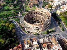 Колизей - самый большой амфитеатр старины - Путешествуем вместе