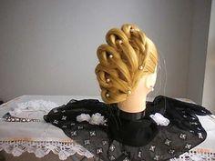 Belle Époque Hairstyle / Penteado Belle Époque - YouTube