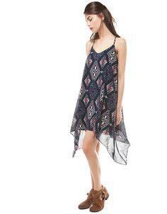 Bershka México - Vestido Bershka bajo asimétrico