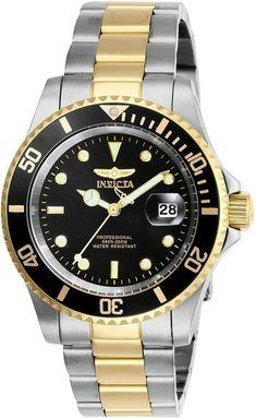 Black Stainless Steel, Stainless Steel Watch, Stainless Steel Bracelet, Cool Watches, Watches For Men, Watch Model, Silver Man, Black Crystals, Bracelets For Men