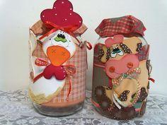 frascos decorados con goma eva - Buscar con Google