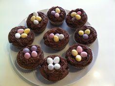 Mini Egg nest cakes