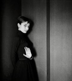 Audrey Hepburn, 1954. Photograph by Cecil Beaton