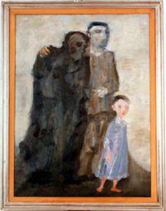Trento Longaretti (Italian, 1916-2016) - Le tre età - 1982 - Gallarate (VA), MAGA - Museo Arte Gallarate