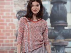 😯Kennt Ihr schon... NAOMI? Unser Leinen-Baumwoll-Pullover mit Effektmuster - jetzt entdecken!