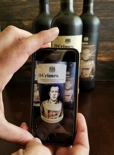 AR Brings 19 Crimes Wine Bottle To Life! 19 crimes wine