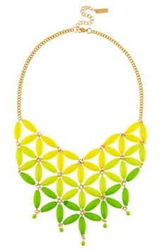 Ombre Flower Necklace. Like the design, but not in my color.