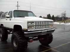 1989 Chevrolet Blazer #car