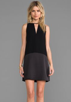 Beautiful LBD. I love how this style skims your curves for a super comfortable and chic look.