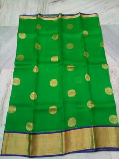 Pure Kanchi Organza With Polka DotsSarees | Buy Online Sarees | Elegant Fashion Wear