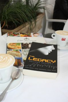 Happy reading over a cup of coffee at the Franschhoek Literary Festival