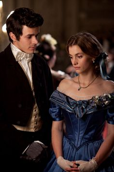Victorian melodrama: Harry Richardson as Frank and Stefanie Martini as Mary in Doctor Thorne, adapted for the small screen by Downton's Julian Fellowes