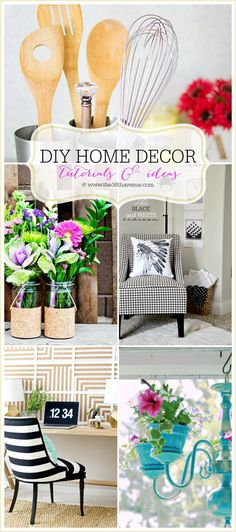Check Out All Of These Fun DIY Home Decor Tutorials And Ideas. | Easy DIY