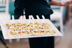 Ravioli appetizers Cute idea!!! #OpenHouse #HomeSmart #Presentation