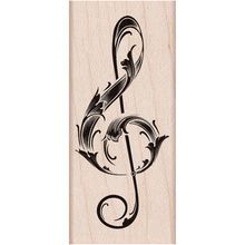 Hero Arts® Rubber Stamps Musical Note Stamp