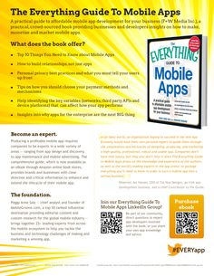 The Everything Guide to Mobile Apps #EVERYapp
