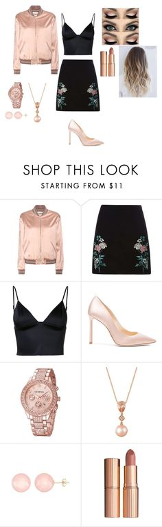 """Untitled #22"" by lucky49 ❤ liked on Polyvore featuring Yves Saint Laurent, Dorothy Perkins, T By Alexander Wang, Jimmy Choo, LE VIAN, Ball and Charlotte Tilbury"