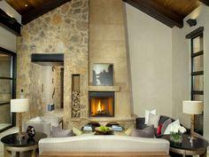 brennholz-lagern-kamin-ziegel-bauen-schornstein | wohnideen