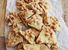 Sweet & Spicy Peanut Brittle... Sometimes I think I should just Pin the entire recipe section of A Beautiful Mess | @Elsie Larson of A Beautiful Mess