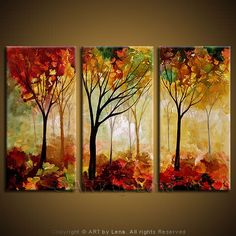 Buy Three-canvas Paintings (Triptychs), p.48