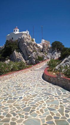 Church of Agia Kyriaki, Karpathos island, Dodecanese, Greece Greece Tours, Greece Travel, Karpathos Greece, Places To Travel, Places To Visit, Myconos, Greece Fashion, Greek Isles, Greece Islands