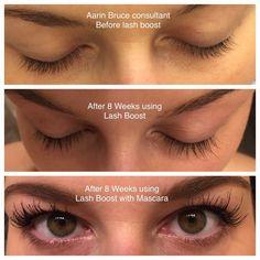 Lash Boost is the real deal!  Get longer, fuller, darker looking lashes in 4-8 weeks!  mdayton.myrandf.com