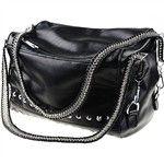 Western Style Rivet Ornament Design PU Leather Shoulder Bag Messenger Bag Handbag for Women NFN-129373