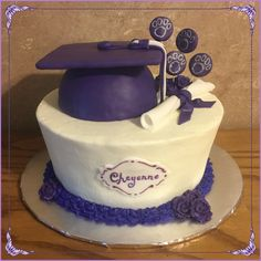 Wildcats Graduation Cake