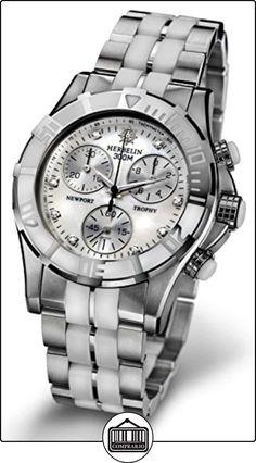 Michel Herbelin 34490/BAW89 - Reloj , correa de acero inoxidable  ✿ Relojes para mujer - (Lujo) ✿