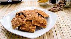 Glutenfree cinnamon crisps