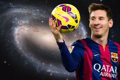 Luis Enrique says Messi's stats are from another galaxy