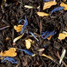 Thé Noir - Earl Grey Fleurs Earl Gray, Meat, Grey, Design, Flowers, Drinking Tea, Bergamot Orange, Herbalism, Food