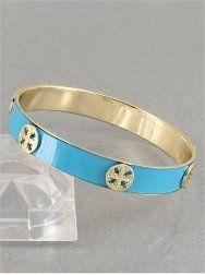 #cybermonday #stockingstuffer #jewelry   Gold & Aqua Blue Pattern Cross Bangle Bracelet Value Line,http://www.amazon.com/dp/B00C0ZK4FO/ref=cm_sw_r_pi_dp_D9lNsb000XMGMR0Q