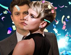 Katy Perry did not kiss girl Scarlett Johansson at SNL after party, but Colin Jost did  http://celebsip.com/katy-perry-did-not-kiss-girl-scarlett-johansson-at-snl-after-party-but-colin-jost-did/