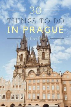 Here are 31 things to do in Prague for first time visitors. Find something to do no matter your interest - from museums to beer gardens and so much more!
