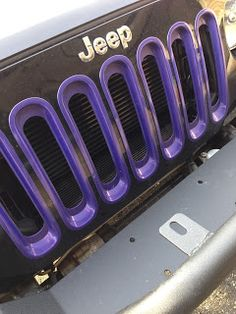 Jeep Momma: Jeep Momma Gets Her Own Color Purple