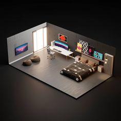Aviator Gaming: Best store for digital games Small Game Rooms, Gaming Room Setup, Gaming Rooms, Desk Setup, Bedroom Setup, Video Game Rooms, Home Office Setup, Game Room Design, 3d Home