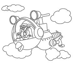 agent oso riding whirly bird coloring pages for kids printable free special agent oso