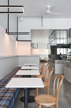 Astroluxe Cafe | Charlotte Minty Interior Design
