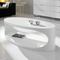 Table basse design Ellipse ZENDART | La Redoute Mobile