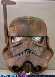 Storm Trooper Carving